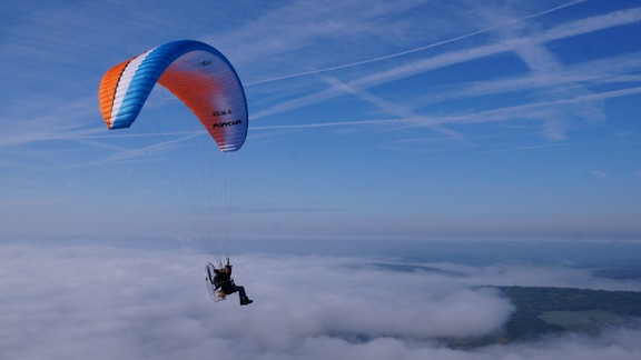Paramotor flying course