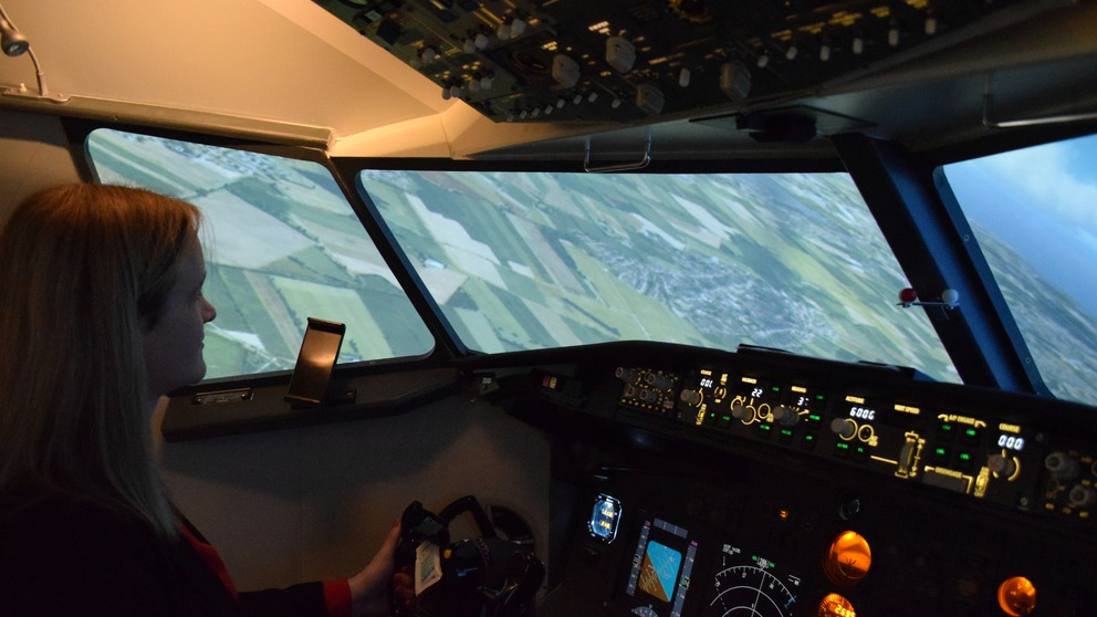 Boeing 737 static simulator