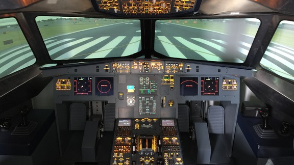 Airbus A320 training and grading
