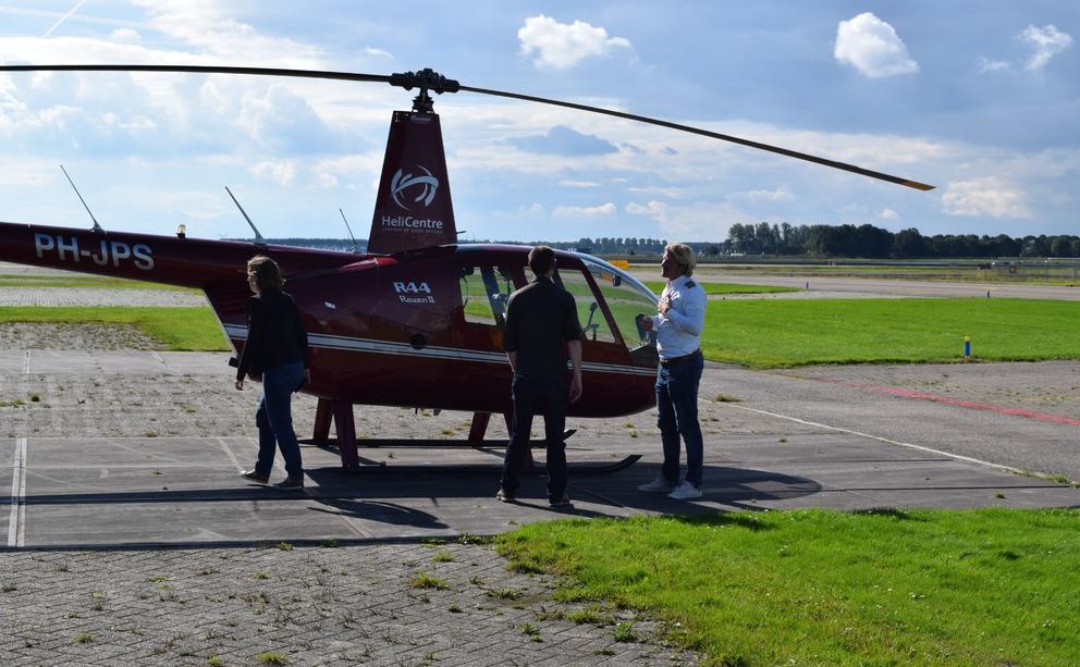 Helikopter Met Passagiers